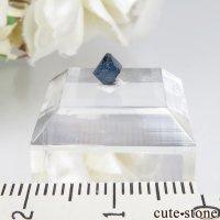 ナイジェリア産 ブルースピネル(ガーナイト)の結晶(原石)No.5の画像