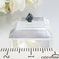 ナイジェリア産 ブルースピネル(ガーナイト)の結晶(原石)No.6の画像