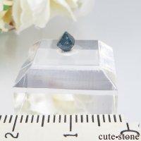 ナイジェリア産 ブルースピネル(ガーナイト)の結晶(原石)No.7の画像