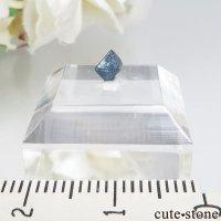ナイジェリア産 ブルースピネル(ガーナイト)の結晶(原石)No.8の画像