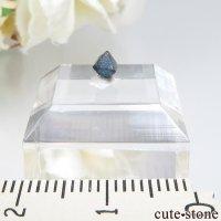 ナイジェリア産 ブルースピネル(ガーナイト)の結晶(原石)No.9の画像