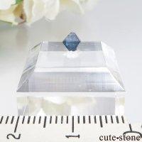 ナイジェリア産 ブルースピネル(ガーナイト)の結晶(原石)No.10の画像