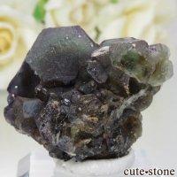 ナミビア エロンゴ産 グリーン×パープルフローライトの原石 No.11の画像