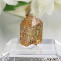 ブラジル産 インペリアルトパーズの単体結晶(原石)No.10の画像