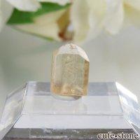 ブラジル産 インペリアルトパーズの単体結晶(原石)No.12の画像