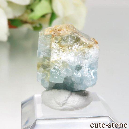 コロンビア Gachala産 ユークレースの原石 No.2の写真0 cute stone