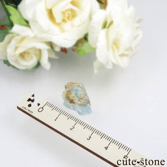 コロンビア Gachala産 ユークレースの原石 No.2の写真1 cute stone