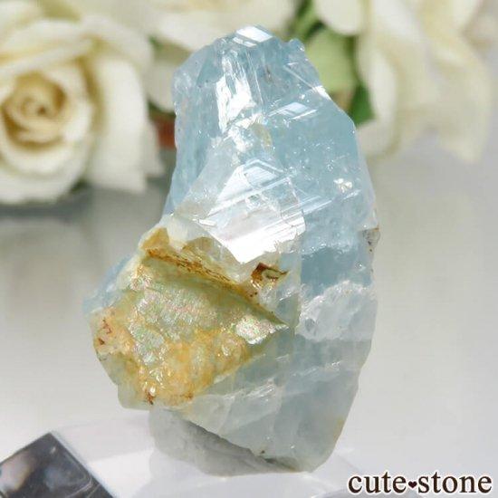 コロンビア Gachala産 ユークレースの原石 No.3の写真0 cute stone