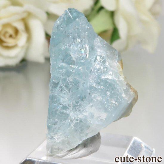 コロンビア Gachala産 ユークレースの原石 No.3の写真1 cute stone
