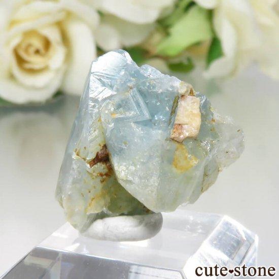 コロンビア Gachala産 ユークレースの原石 No.4の写真1 cute stone