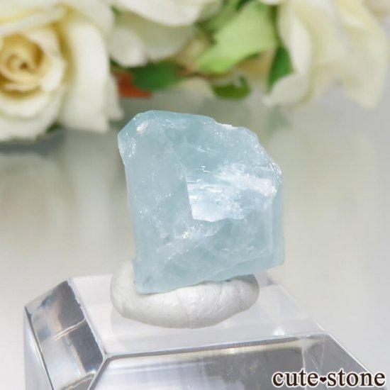 コロンビア Gachala産 ユークレースの原石 No.5の写真0 cute stone
