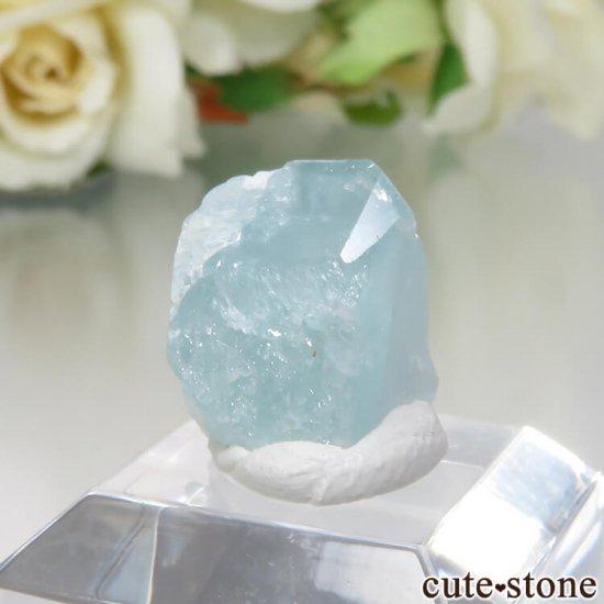 コロンビア Gachala産 ユークレースの原石 No.5の写真1 cute stone