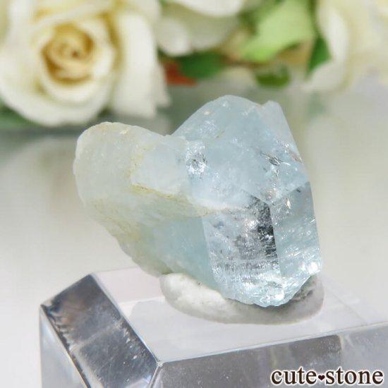 コロンビア Gachala産 ユークレースの原石 No.7の写真0 cute stone