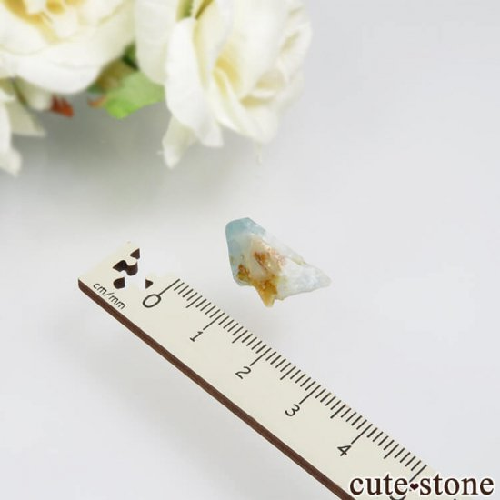 コロンビア Gachala産 ユークレースの原石 No.9の写真3 cute stone