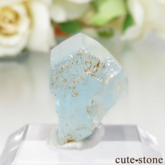 コロンビア Gachala産 ユークレースの原石 No.11の写真1 cute stone