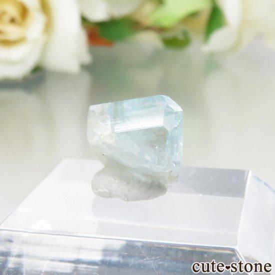 コロンビア Gachala産 ユークレースの原石 No.12の写真0 cute stone