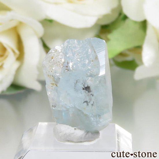 コロンビア Gachala産 ユークレースの原石 No.14の写真0 cute stone