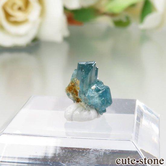 コロンビア La Marina Mine産 ユークレースの結晶(原石)No.4の写真0 cute stone