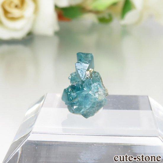 コロンビア La Marina Mine産 ユークレースの結晶(原石)No.4の写真2 cute stone