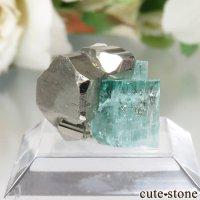 コロンビア Chivor Mine産 エメラルド&パイライトの結晶(原石)No.6の画像