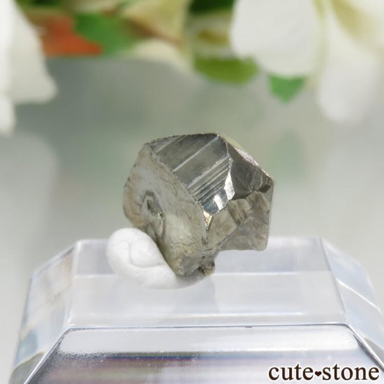 コロンビア Chivor Mine産 エメラルド&パイライトの結晶(原石)No.7の写真1 cute stone