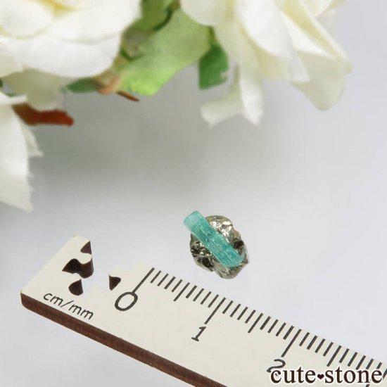 コロンビア Chivor Mine産 エメラルド&パイライトの結晶(原石)No.10の写真3 cute stone