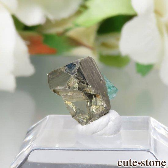 コロンビア Chivor Mine産 エメラルド&パイライトの結晶(原石)No.11の写真0 cute stone