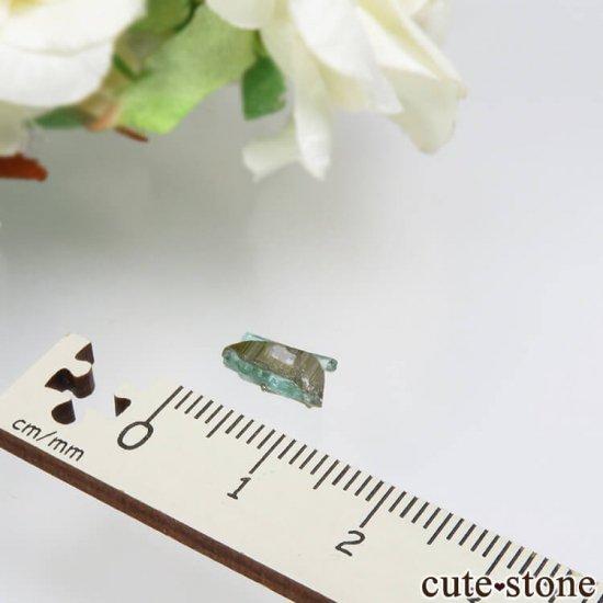 コロンビア Chivor Mine産 エメラルド&パイライトの結晶(原石)No.15の写真3 cute stone
