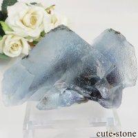 内モンゴル自治区 Yindu Ag-Pb-Zn deposit産 フローライトの原石 No.7の画像