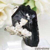 ナミビア エロンゴ産 ブラックトルマリン(ショール)&アルバイトの結晶(原石) No.5の画像