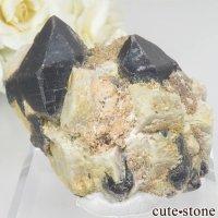 ウクライナ Khoroshiv産 カンゴーム - モリオン(黒水晶)の原石 No.12の画像