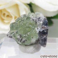 タンザニア メレラニ産 タンザナイト&プレナイトの原石 No.44の画像
