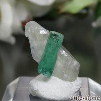 コロンビア Pena Blanca Mine産 エメラルド&カルサイトの原石 No.1の画像