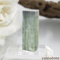 パキスタン Stak Nala産 グリーン×ブルーグリーントルマリンの結晶 No.14の画像