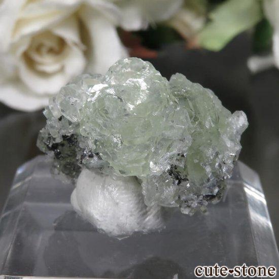 タンザニア メレラニ産 プレナイトの原石 No.5の写真1 cute stone
