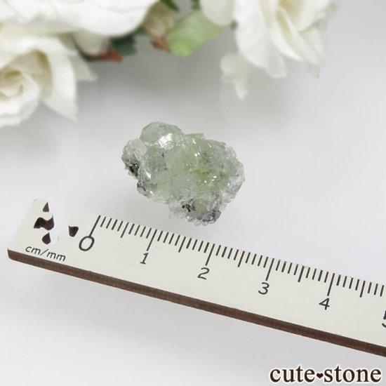 タンザニア メレラニ産 プレナイトの原石 No.5の写真3 cute stone