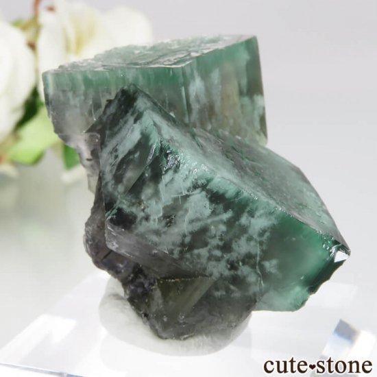 レディアナベラ Posison Ivy Pocket産 フローライトの結晶(原石)No.1の写真0 cute stone