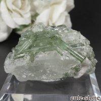 パキスタン Chapo mine産 グリーントルマリン&クォーツの原石 No.1の画像