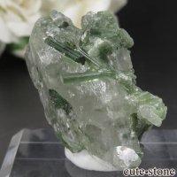 パキスタン Chapo mine産 グリーントルマリン&クォーツの原石 No.8の画像