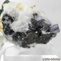 ブルガリア Krushev dol mine産 スファレライト&ガレナ&クォーツの原石 No.2の画像