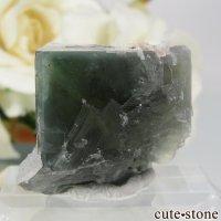 フランス Marsanges Mine産 フローライト&クォーツの原石 No.9の画像