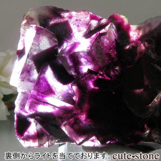 ナミビア Okorusu Mine産 パープルフローライトの原石 No.16の写真0 cute stone