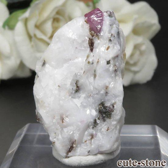 パキスタン Doyandas-Ganish産 スピネル&フロゴパイトの母岩付き原石 No.1