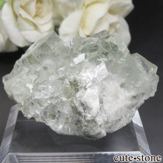 中国 Xianghualing Mine産 グリーンフローライトの原石 No.47の写真1 cute stone