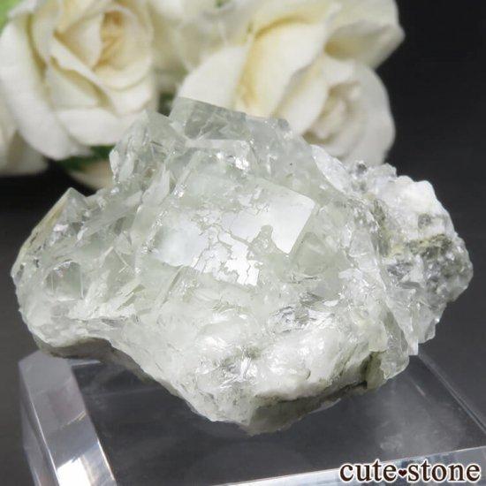 中国 Xianghualing Mine産 グリーンフローライトの原石 No.47の写真2 cute stone