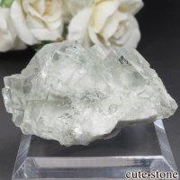 中国 Xianghualing Mine産 グリーンフローライトの原石 No.47の画像
