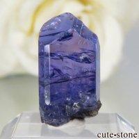 タンザニア メレラニ産 タンザナイトの原石(加熱処理) No.61の画像