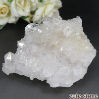 ブラジル ミナスジェライス州 コリント産 水晶(クォーツ)のクラスター(原石) No.8の画像