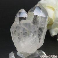 ブラジル ミナスジェライス州 コリント産 水晶(クォーツ)のクラスター(原石) No.12の画像