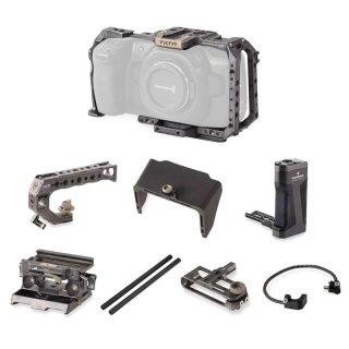 TILTA Tactical Package for BMPCC4K BMPCC 4K用カメラケージ タクティカルキットTilta Gray (TA-T01-A)